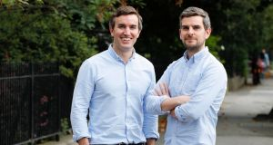 Jobbio founders John and Stephen Quinn. More than 6,000 companies are signed up to the platform. Photograph: Conor McCabe Photography