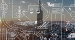 Tech Ireland said there are at least 66 companies working in the AI sector, employing almost 2,500 people. Photograph: iStock/Askold Romanov, Mlenny & Tricia Seibold