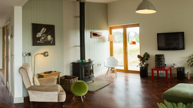 Furniture designer Max Brosi's timber, butterfly-roof house, in Glenboy, is open Sunday 11am-5pm