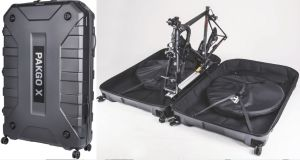 The Topeak PakGo bike case is designed to covert it into just another piece of luggage