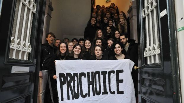 Members and supporters of U-Repeal, a feminist group based in Utrecht, will be staging an event in solidarity with March for Choice on Saturday