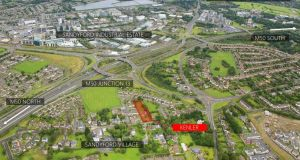 Kenler, a 0.59 acre site bought by Ciaran Deane for €1.51m, will be redeveloped as eight large new homes