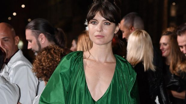 Vittoria Puccini attends the Green Carpet Fashion Awards Italia 2017. Photograph: Getty