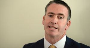 An expert group is to be set up to examine Traveller accommodation policy, Minister of State for Housing Damien English has said. Photograph: Dara Mac Donaill/The Irish Times.