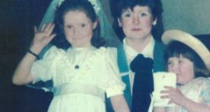 Kerrie Byrne (3) Mary Ellen Byrne (8) and their aunt Barbara Doyle (20) died  in a house fire at Church Lane, Kilcock, Co Kildare on September 20th, 1987.