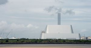 The incinerator at Poolbeg, Ringsend, Dublin. File photograph: Brenda Fitzsimons/The Irish Times