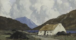 'A Connemara Cottage' by Paul Henry