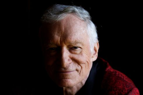 July 27th, 2010: Hugh Hefner poses for a portrait at his Playboy mansion in Los Angeles, California.  Hefner, the silk pajamas-wearing founder of Playboy magazine who helped steer nudity into the American mainstream, has died aged 91. Photograph: REUTERS