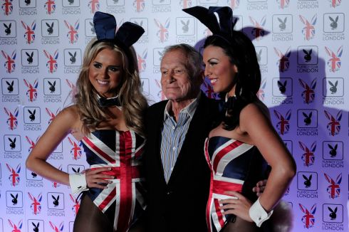 June 4th, 2011: Attending the opening of the Playboy Club in central London. Photograph: AFP/Getty Images