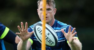 Jamie Heaslip has been struggling with a back injury, and no return date has yet been set for him. Photograph: Inpho