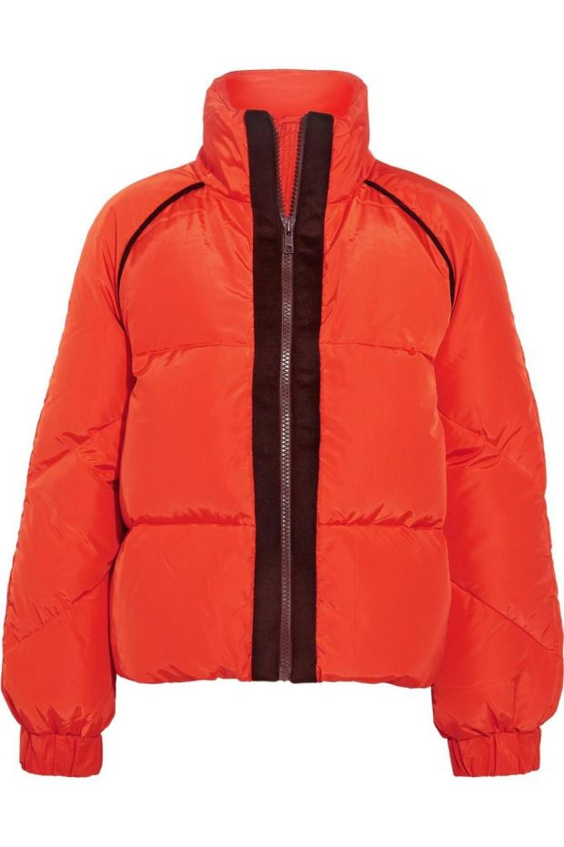 Fountain down jacket, €299 from Ganni.com