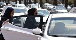 Wheels of progress?: from June 2018 women will be able to get a driving licence without a male relative's permission  and to drive without a male relative in the car. Photograph: Fayez Nureldine/AFP/Getty