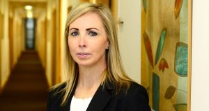 Data Protection Commissioner Helen Dixon wants a ruling on the validity of the European Commission's decisions approving standard contractual clauses before finalising her decision on Max Schrems's complaint. File photograph: Cyril Byrne/The Irish Times