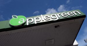 Applegreen: shares likely to trade at a slight discount to the €6.19 price at which they closed in Dublin on Thursday. Photograph: Cyril Byrne