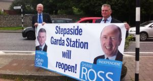 Shane Ross said 'the Government decision to close Garda stations was wrong, and the worst case of it in the country was on my doorstep'. Photograph: Mark Hilliard