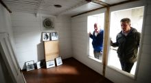 Shackleton's sea-bedroom was little more than a glorified packing case