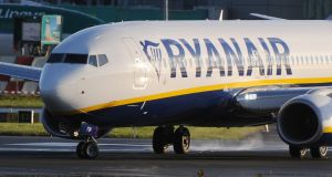 Ryanair on Friday  issued updated passenger compensation information following the setting of a deadline by the  Civil Aviation Authority. Photograph: EPA