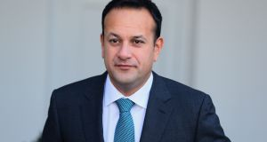 "Taoiseach Leo Varadkar: ""If you want those companies to generate in Europe it not through heavy taxes and more regulation"". File photograph Brian Lawless/PA"