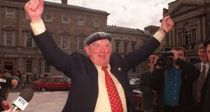 "Jackie Healy-Rae disclosed that he had achieved €71 million for Kerry roads in the 2007 deal. ""The question was – in pounds, shillings and pence, what was I looking for that would sort out South Kerry for me,"" he recalled. Photograph: Alan Betson"