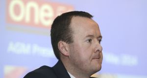 One51 chief executive Alan Walsh: advancing IPO plans. Photograph: Dave Meehan.