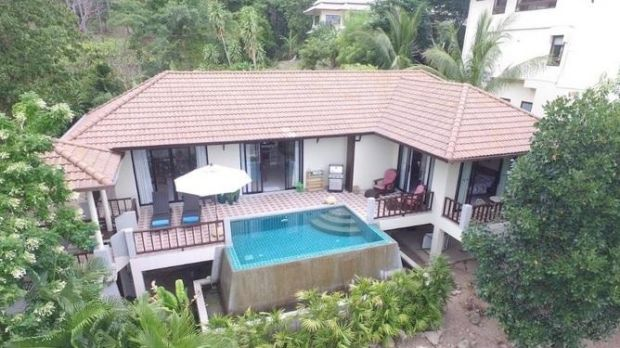 Two-bed villa in Chaweng, Koh Samui, Thailand