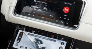 The iPad-like touchscreens are the work of Land Rover and Panasonic engineers and they give the Velar an edge over the tech-savvy German premium rivals