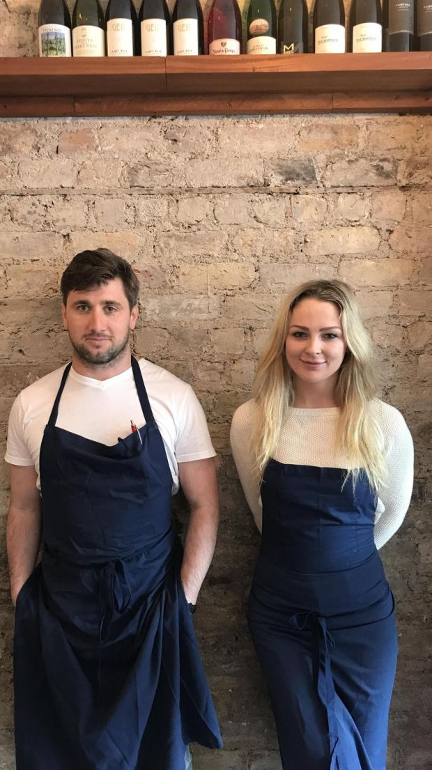 Barry O'Neill, sous chef, and Grainne O'Keefe, head chef, at newly opened Clanbrassil House, from the team behind Bastible