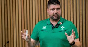 "Nick Winkelman, the IRFU's head of athletic performance and science: ""Everyone has a ceiling in terms of what their capabilities are."" Photograph: Morgan Treacy/Inpho"