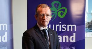Niall Gibbons CEO of Tourism Ireland: will travel to the UK next week to meet industry counterparts. Photograph: Cyril Byrne
