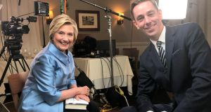 "Hillary Clinton: ""There has been so much progress"" in the North. ""I don't want to see it lost,"" she told Ryan Tubridy"