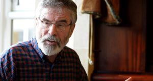 Sinn Féin president Gerry Adams. File photograph: Eric Luke