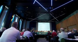 GAA Congress, at Croke Park, Dublin, on Saturday morning. Photograph: Tommy Dickson/Inpho