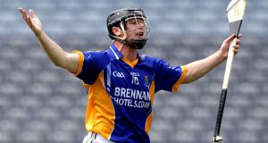 Leighton Glynn in action for Wicklow during the Christy Ring Cup final in 2011. Photograph: Cathal Noonan/Inpho
