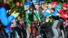 Ireland's Nicolas Roche at the UCI Cycling Road World Championships on September 20th, 2017 in Bergen, Norway: looking good ahead of Il Lombardia Classic.  Photograph: Jonathan Nackstrand/AFP/Getty Images