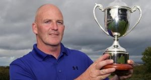 Greystones' Alan Condren captured the Irish Mid-Amateur Championship in style with a seven stroke margin of victory at Clandeboye. Photograph: Pat Cashman