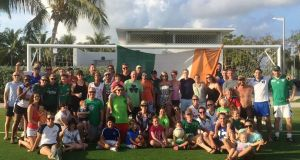 Cayman Islands Gaelic Football Club is the biggest sporting club on the island, with  250 playing members. Photograph: gaa.ie