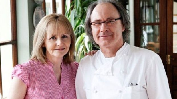Wild Honey Inn owners Aidan McGrath and partner Kate Sweeney, who were awarded a Michelin star for 2018