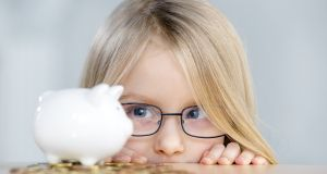 It's not fair! Bank of Ireland offers its best deposit rate to the under-12s. Photograph: iStock