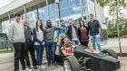 Carlow Institute of Technology  mechanical engineering students  built their own single-seated Formula One style race car