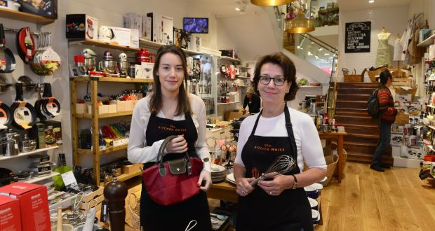 Attirant Kate And Mary Masterson Of The Kitchen Whisk On Wicklow Street, Dublin.  Photograph: