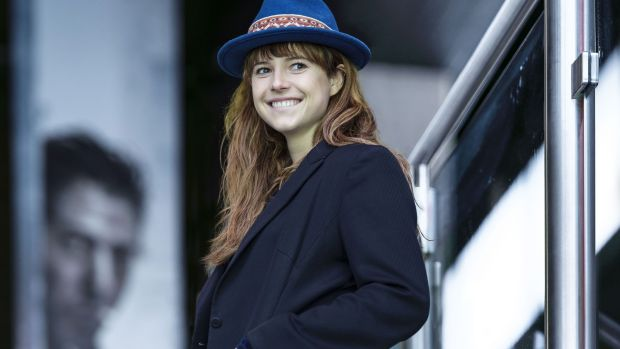 Jessie Buckley started in musical theatre. Her first feature lead role is in Beast
