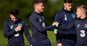 James McCarthy took a full part in training on Monday. Photograph: Ryan Byrne/Inpho