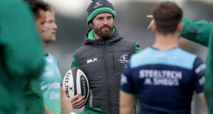 "Connacht assistant  coach Nigel Carolan: ""I think we are on the right road. I think the players are excited by how they train, by how they play."" Photograph: Laszlo Geczo/Inpho"
