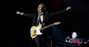 Tom Petty with  The Heartbreakers,  kickstarting a  European tour in Dublin to a packed audience  in June 2012. File photograph: Brenda Fitzsimons/The Irish Times