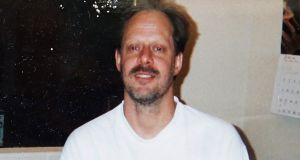 Undated photograph provided by Eric Paddock shows his brother, Las Vegas gunman Stephen Paddock who  opened fire on the Route 91 Harvest Festival killing dozens and wounding hundreds.  Photograph: Eric Paddock/AP