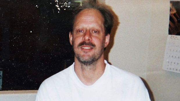 Undated photo of Los Vegas gunman Stephen Paddock. Photograph: AP