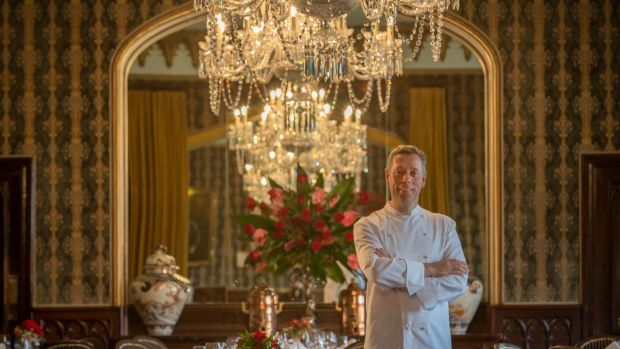 Executive head chef at Dromoland Castle in Co Clare David McCann was the chef of the year.