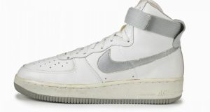 The Nike Air Force 1. It was a technologically advanced basketball shoe, marketed initially to basketball players