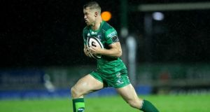 Connacht's Matt Healy could return to face Ulster after suffering a groin injury. Photo: James Crombie/Inpho