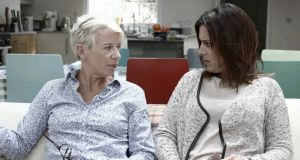Lucy Kennedy with Katie Hopkins, whose self-obsession has the all-consuming gravity of a black hole